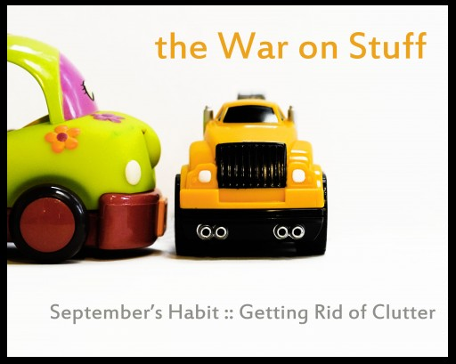 getting rid of clutter 512x409 A Year of Intentional Habits
