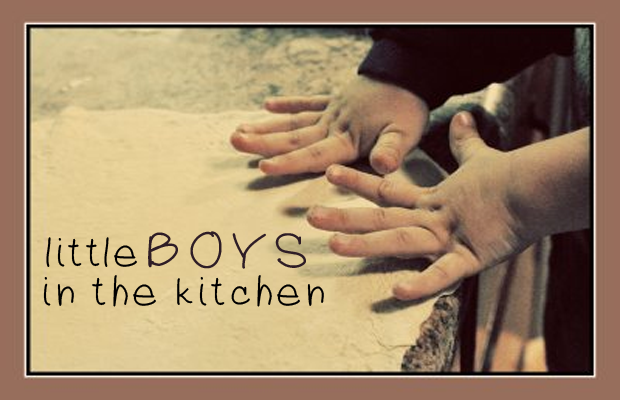 little boys in the kitchen Little Boys in the Kitchen