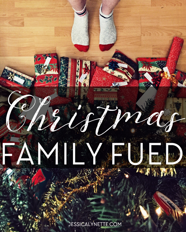 Christmas Family Fued - a fun game for a large group for Christmas parties