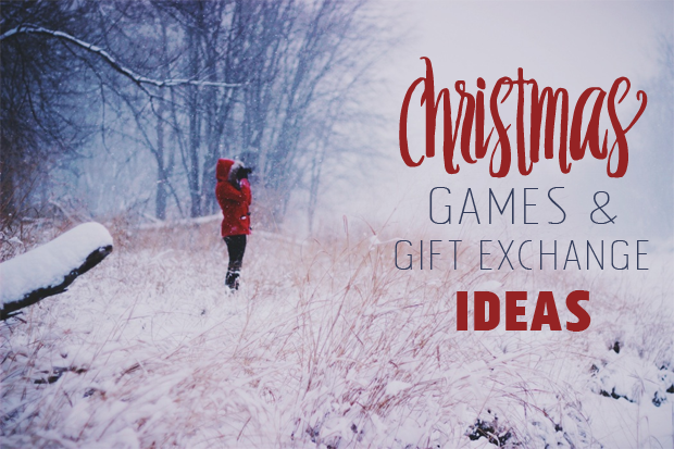 Games to play for gift exchange at Christmas - A collection of Christmas games to play at your holiday get together with family and friends.