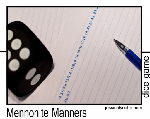 dice game 512x409 Dice Game   Mennonite Manners