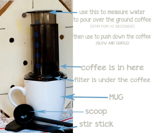 aeropress 512x448 Aeropress Review & Giveaway *closed*