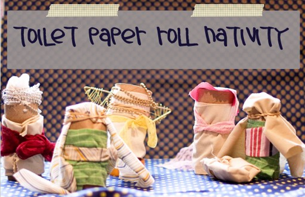 toilet paper roll nativity The Nativity   Telling the Story With Toilet Paper Rolls