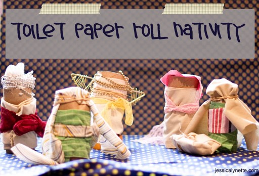 toilet paper rolls 512x348 The Nativity   Telling the Story With Toilet Paper Rolls
