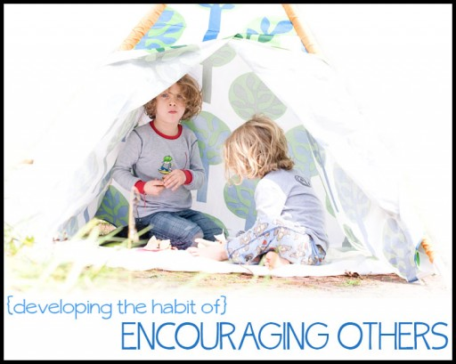 ENCOURAGING OTHERS HABIT 512x409 The Habit of Encouraging Others; Marchs Habit