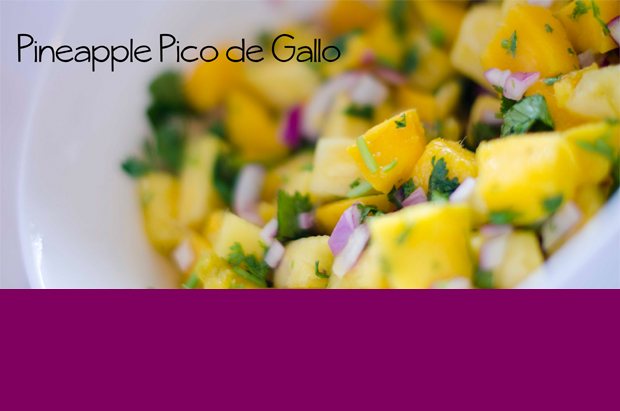 pineapple pico de gallo - a wonderful, easy and delicious spring or summer dish
