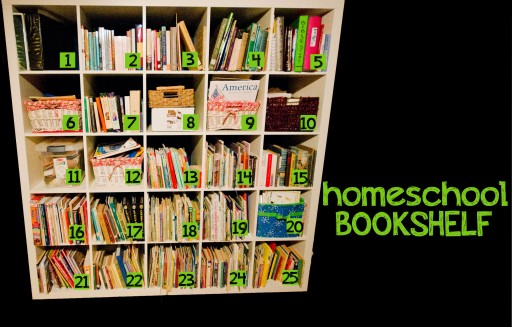 SHELF 512x327 The Homeschool Bookshelf