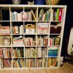homeschool shelf