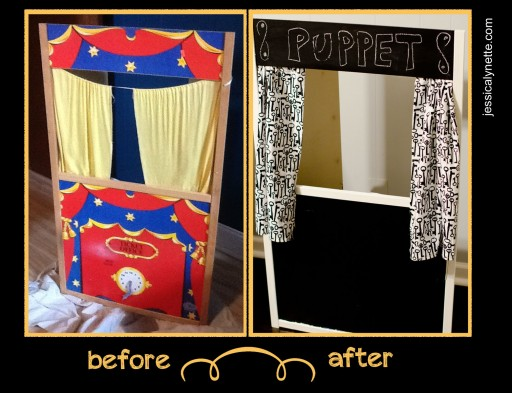 puppet 512x393 Puppet Theater Before and After