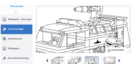 free coloring pages 10 512x249 Free Coloring Pages :: 10 Favorite Websites