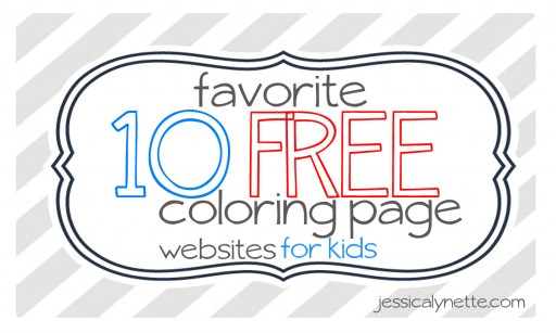 free coloring pages 11 512x307 Free Coloring Pages :: 10 Favorite Websites