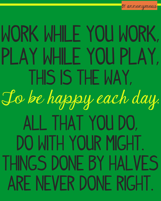 work-while-you-work