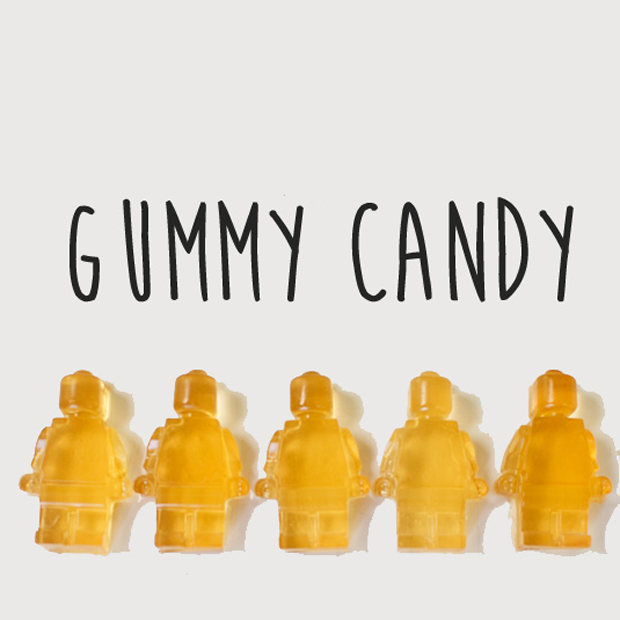 Homemade Yummy Gummy Candy {sweetened with honey}