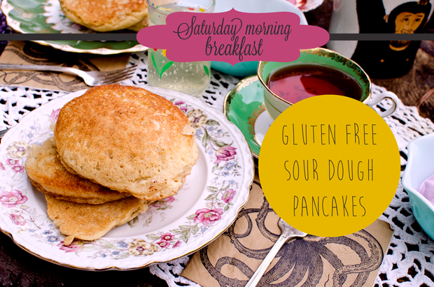 GF Sour Dough Pancake Recipe