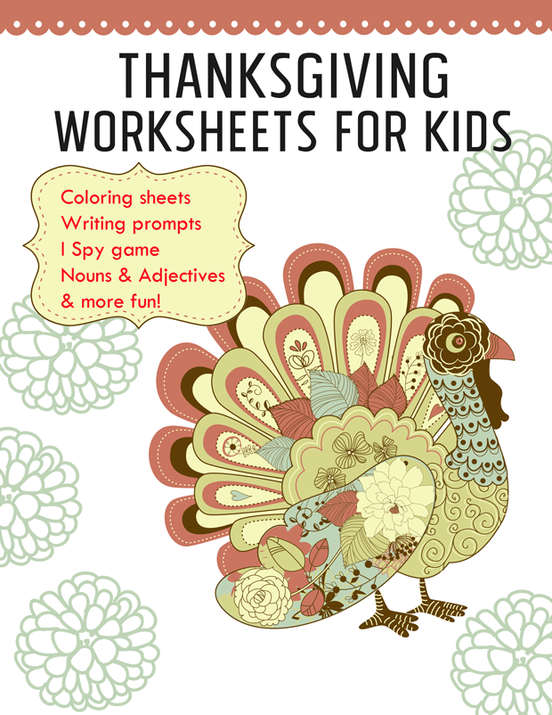 thanksgiving-worksheets- printable activities for kids
