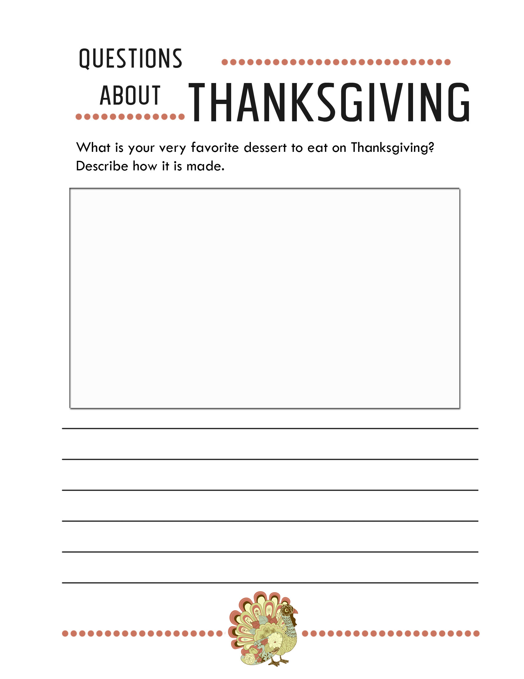 worksheet Fun Thanksgiving Worksheets thanksgiving worksheets free printables jessicalynette com writing prompts 3