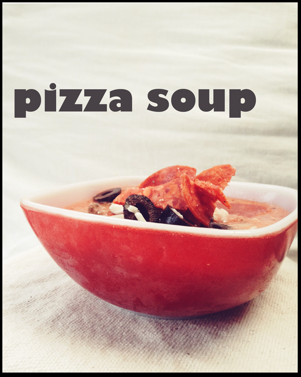 Pizza Soup Recipe