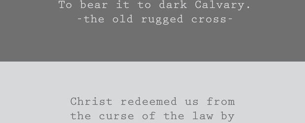 Hymn Lyrics The Old Rugged Cross