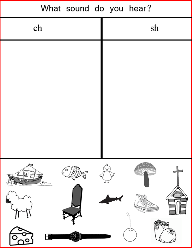 Worksheets Collect The Pictures That Begin Ch And Sh sh sound practice jessicalynette com ch we recently started speech therapy for the youngest i have felt a long while that it was needed but his doctor kept insisting not