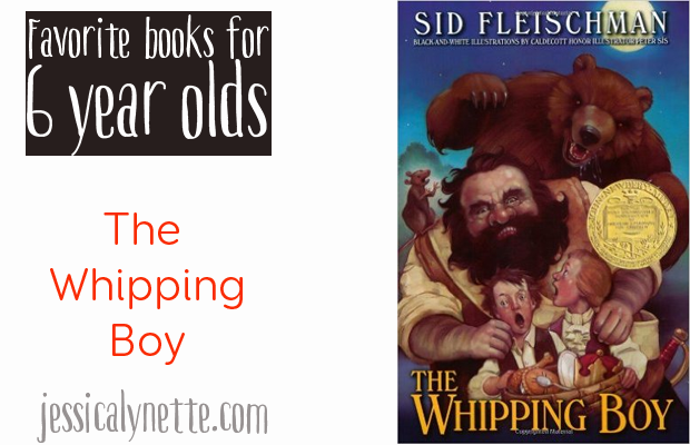 favorite-books-for-six-year-olds-the-whipping-boy