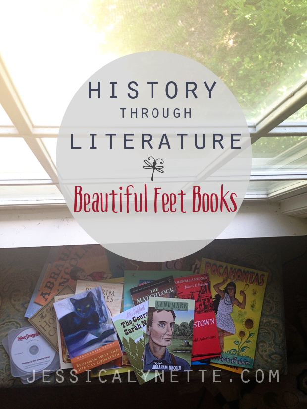 History through literature - Beautiful Feet Books - great history option for elementary students
