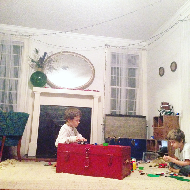 lego fun while listening to homeschool history stories