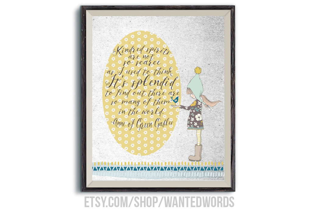 Anne of Green Gables Quotes and Printables